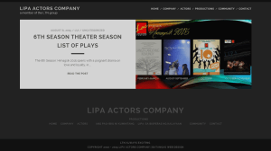 Lipa Actors Company Screenshot